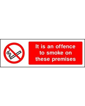 Prohibition: It Is An Offence To Smoke On These Premises