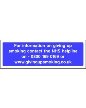 Prohibition: NHS Helpline Quit Smoking