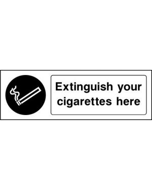 Prohibition: Extinguish Your Cigarettes Here
