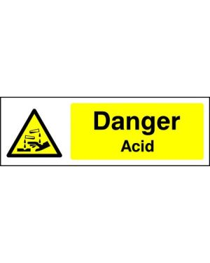SSWARNC0001 | Warning: Danger acid