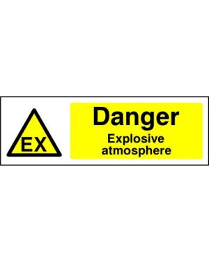 SSWARNC0002 | Warning: Danger explosive atmosphere (1)