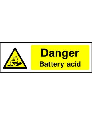 SSWARNC0007 | Warning: Danger battery acid