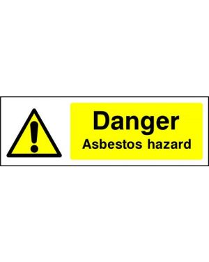 SSWARNC0009 | Warning: Danger asbestos hazard