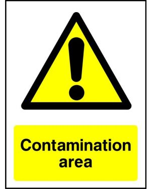 Warning: Contamination Area