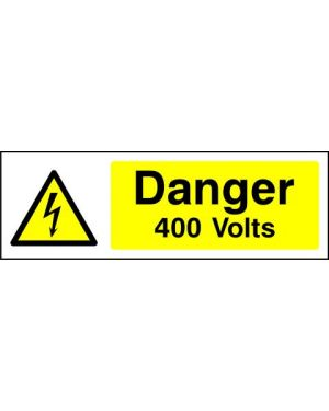 SSWARNE0003 | Warning: Danger 400 volts