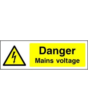 SSWARNE0007 | Warning: Danger mains voltage