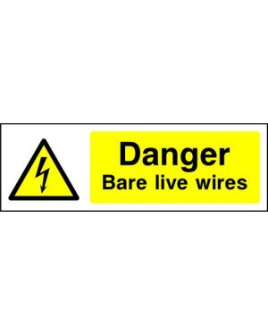 SSWARNE0009 | Warning: Danger bare live wires