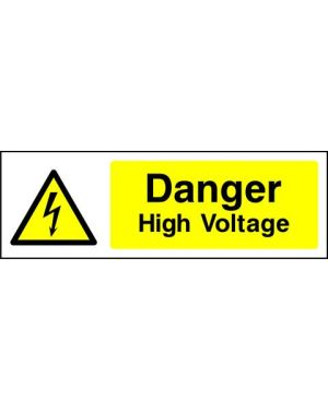 SSWARNE0012 | Warning: Danger high voltage