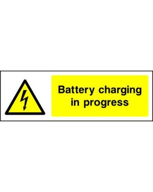 Warning: Battery Charging In Progress