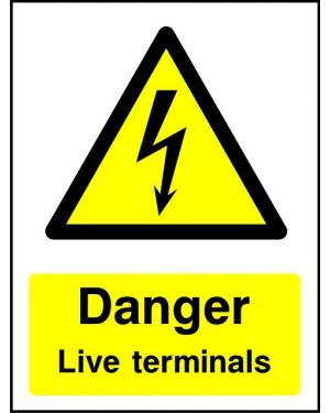 Warning:  Danger Live Terminals