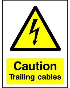 Warning: Caution Trailing Cables