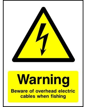 Warning: Beware Of Overhead Electric Cables When Fishing