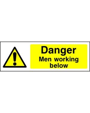 SSWARNG0003 | Warning: Danger men working below