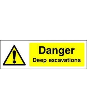 SSWARNG0004 | Warning: Danger deep excavaions