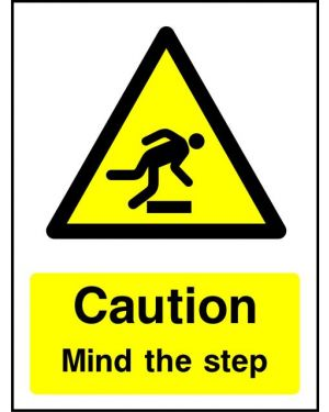 Warning: Caution Mind The Step