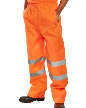 Rail Spec EN471 Water Resistant Over-trousers