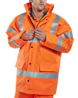 Rail Spec Constructor Traffic Jacket