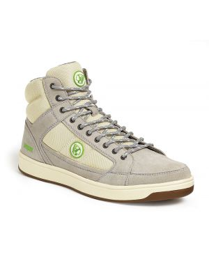 Apache Travel White Hi Top Safety Trainers