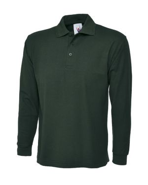 Uneek Long Sleeve Pique Polo Shirt UC113